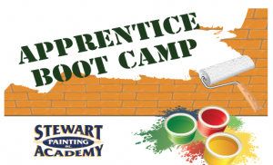Stewart Painting Academy apprentice boot camp