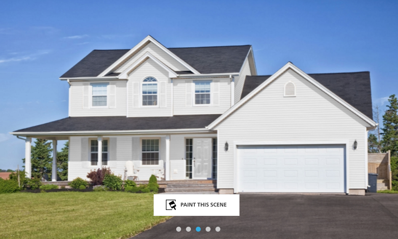 your perfect exterior paint colors with online tools