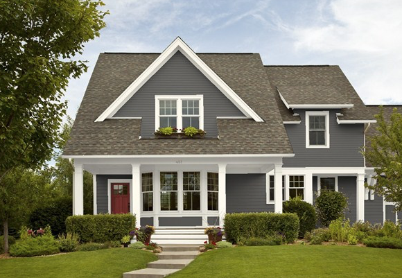 Find your perfect exterior paint colors with online tools Benjamin moore historical collection