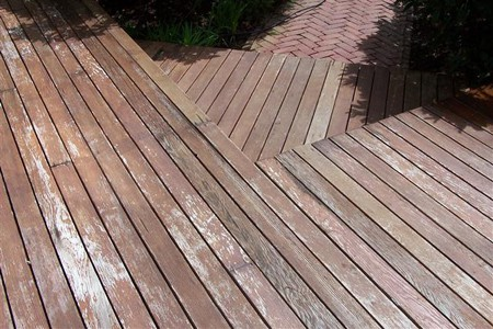 Faded deck