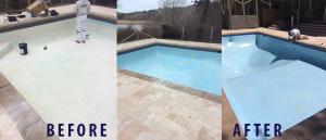 Stewart Painting pool resurfacing