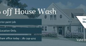 50% off House Wash with Paint Job in South Shore