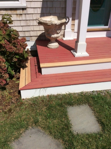 Carpentry Replace Steps