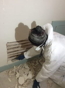 Carpentry for drywall damage repairing 2
