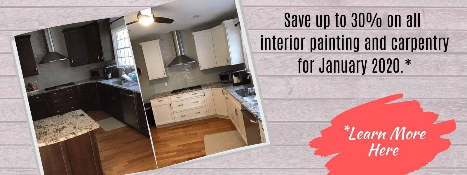 Go From Drab to Fab with our Winter Discount!