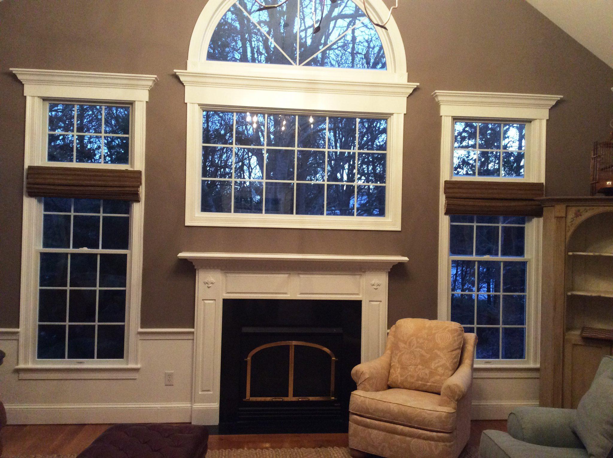 Interior Painted Brightened - Interior Residential
