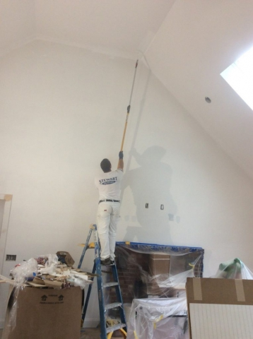 Interior Painting Residential Painter Cathedral Ceiling