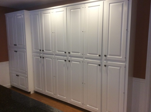 Kitchen Cabinets Refinished in Cotuit