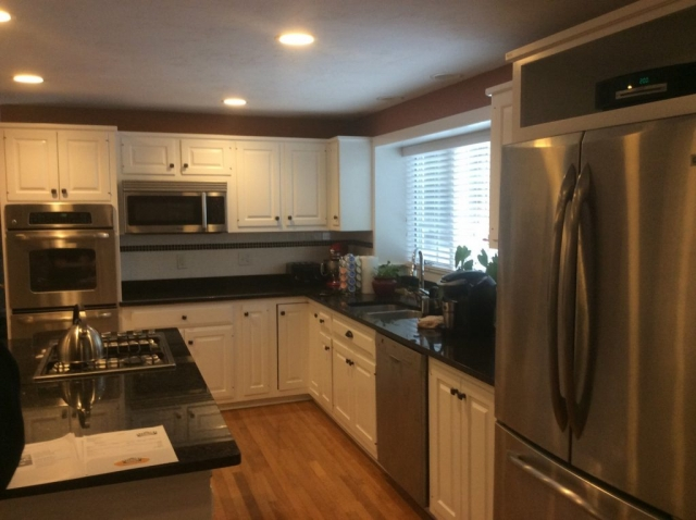 Kitchen Cabinet Refinishing in Cotuit