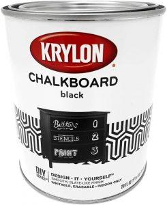 Krylon Chalkboard Black Paint