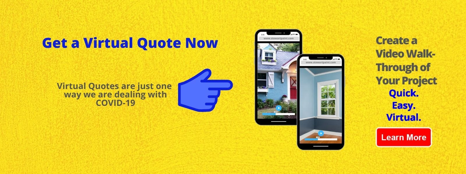 Get a Virtual Quote from Stewart Painting