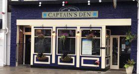 Quahog Republic's Captains Den - After wash and paint
