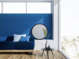 Blue Living Room ©ismagilov via Canva.com