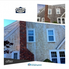 House Wash Before and After