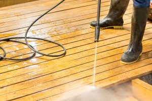 High Pressure Power Wash