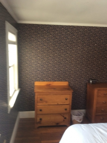 Before Wallpaper Removal